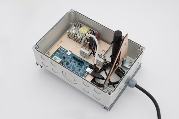 Interior of Echo Box