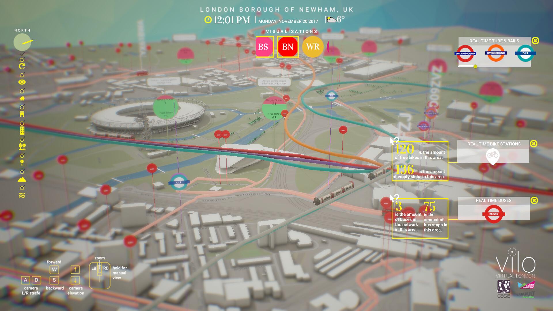 ViLo model of Olympic Park