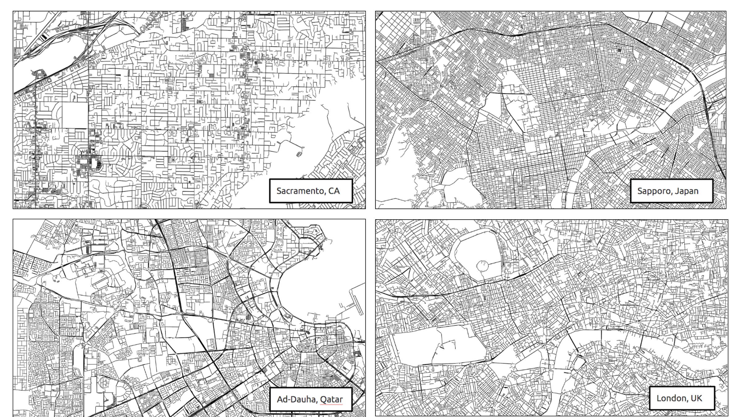 When Deep Learning meets Urban Complexity