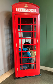 Telephone Box at V&A MoC