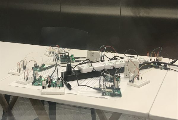Sensors in Environment Chamber